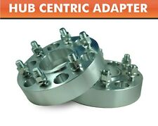 """2 Hub Centric Wheel Adapters 6x5.5 ¦ Tundra Tacoma Pickup 4WD Spacers 1"""""""