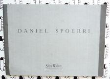 DANIEL SPOERRI  CRIMINAL INVESTIGATIONS SABINE WACHTERS  1991 catalogue