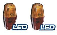 LED Trailer Lamp Assembly 12v 8 Indicator 5 Stop 3 Tail Light LEDs PAIR