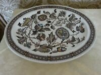 Ridgway Pottery Jacobean Design Oval Serving Meat Plate 36cm x 28cm