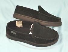 * Black Globe Castro Slip-On Shoes Size 8