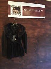 NWT Brave Soul By Modcloth Black Faux Fur Collar XS