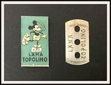 ⭐ RAZOR BLADE MICKEY MOUSE / Topolino - 1935 - DISNEYANA.IT ⭐