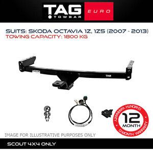 TAG Euro Towbar Fits Skoda Octavia 2007 - 2013 Towing Capacity 1800Kg 4x4 4WD