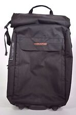 BONFIRE HOLIDAY ROLLER TRAVEL BAG $180 one black four compartments USED