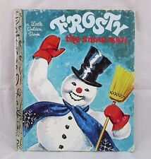 Vintage Frosty The Snow Man A Little Golden Book 1982 Hardcover Annie N Bedford
