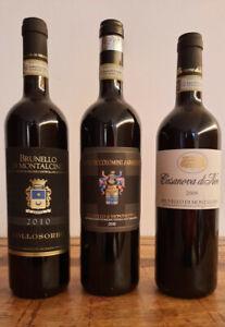 Weinraritäten - Brunello di Montalcino - Casanova di Neri, Collosorbo, Ciacci P.