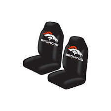 New NFL Denver Broncos 2 Front Universal Fit Car Truck  Bucket Seat Covers