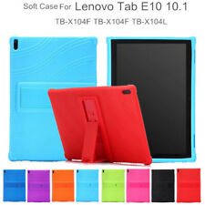 Kids Soft Case For Lenovo Tab E10 TB-X104F/N Tablet Silicone Stand Cover 10.1''