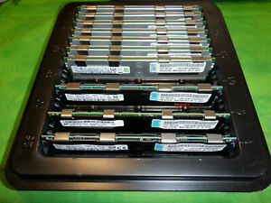 SAMSUNG MICRON HYNIX 16GB 4Rx4 DDR3 PC3L-8500R ECC REG SERVER MEMORY  LOT OF 10