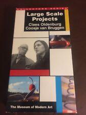 Large Scale Project Claes Oldenburg Coosje Van Bruggen VHS Museum Of Modern Art