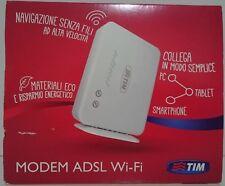MODEM ROUTER ADSL ADSL2 + WIFI TELECOM ITALIA SENZA ANTENNE