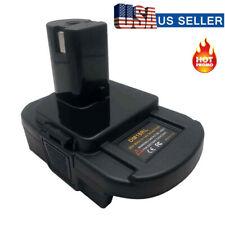 New USB Battery Adapter For DEWALT Milwaukee Converter to RYOBI 18V Power Tools