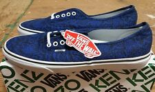 Vans X Kenzo Authentic True Blue Moths Size 12 supreme wtaps syndicate sophnet