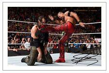 SHINSUKE NAKAMURA WWE WRESTLING SIGNED PHOTO PRINT AUTOGRAPH