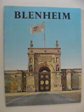 Blenheim Palace Marlborough / Churchill Estate UK History Guide Souvenir 1971