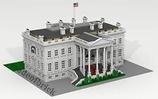CUSTOM LEGO BUILDING The White House. Washington (USA). SIZE:45x40x18 inches!!!
