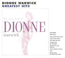 Dionne Warwick - The Very Best Of Dionne Warwick (CD 2000) Card Slipcase