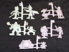 Vintage Rubber Keshi Figure Lot - Final Fantasy VII 7 Cloud Aerith Chocobo