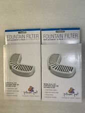 2 - 3 Packs Pioneer Pet Replacement Filters Ceramic & Stainless Steel Fountains