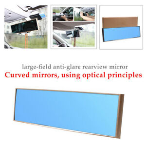 Car Panoramic Convex Clear Lens Wide Angle Lens Side Blind Spot Rear View Mirror