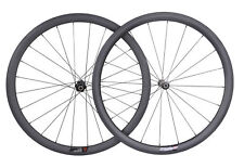 DT Swiss 240 Sapim Carbon Wheel 38mm Clincher Road Bike 700C UD Matt Rim 25mm