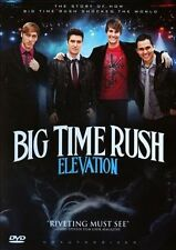 Elevation by Big Time Rush (DVD, Aug-2013) - like new, in original case