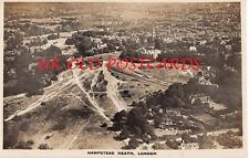London - HAMPSTEAD HEATH, Aerial View,   Real Photo.