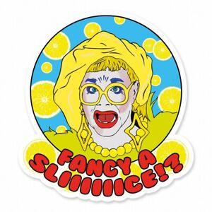 Ginny Lemon Fancy A Slice UK Drag Race inspired Vinyl Sticker