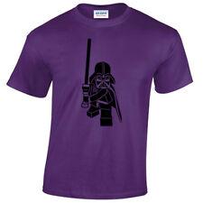 Lego Darth Vader T-Shirt Mens S-5XL star inspired wars gift jedi sith