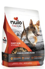 Nulo Freestyle  Dog Food Freeze-Dried Raw Turkey /Cranberries 2 Bags =10 oz.