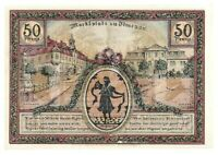 Notgeld - Ilmenau - Stadt Ilmenau - 50 Pfennig - 1921 - Bild 4 - Marktplatz