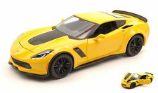 Corvette Z06 2015 Yellow 1:24 Model MAISTO