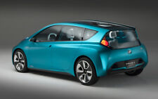 """2011 TOYOTA PRIUS C CONCEPT REAR A2 CANVAS PRINT POSTER 23.4""""x15.4"""""""