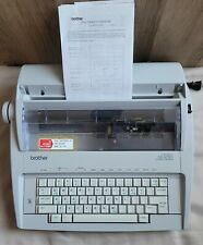Brother Correctronic Gx 6750 Electronic Typewriter With Cover Box Testedworking