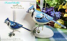 Hallmark Blue Jay ornament 2007 Beauty of Birds #3 in Series Brand New