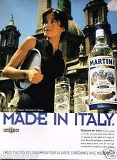 Publicité advertising 1998 Apéritif Martini