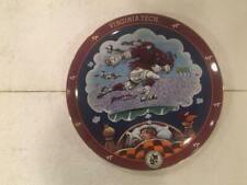 Virginia Tech Danbury Mint Fans Dream by Gary Patterson Plate