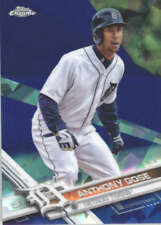 ANTHONY GOSE 2017 TOPPS CHROME SAPPHIRE EDITION #268 ONLY 250 MADE