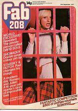 Fab 208 Magazine 10 September 1977     David Soul     Showaddywaddy    Andy Gibb