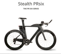 Quintana Roo PR SIX SERIES 50cm TT Frameset (Black)