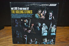 "Rolling Stones ""Got LIVE If You Want It"" Vinyl Record Album VG+ PS493"