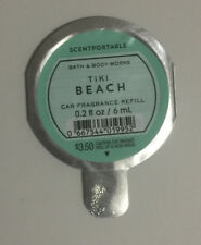 1 Scentportables Tiki Beach Disc Air Freshener Car Vanilla Orchid Coconut