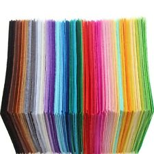 22pcs  Bundle Dolls Crafts DIY Sewing Polyester Cloth Felts Non Woven Fabric