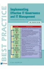 Implementing Effective It Governance and It Management by Van Haren (2015,...