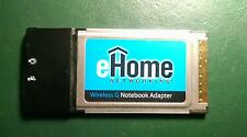 D-Link eHome EH101 802.11g Wireless G PMCIA CardBus Notebook Adapter