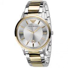 EMPORIO ARMANI Dress Gold Silver Dial Men's Watch AR2449