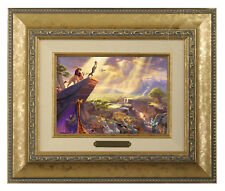 Thomas Kinkade Lion King Framed Brushwork (Gold Frame)