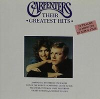 Carpenters: Their Greatest Hits, , Very Good, Audio CD