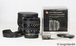 *MINT* Leica Vario-Elmar-R 21-35mm f3.5-4 1:3.5-4/21-35 R6 R8 R9 M240 DMR MP SL